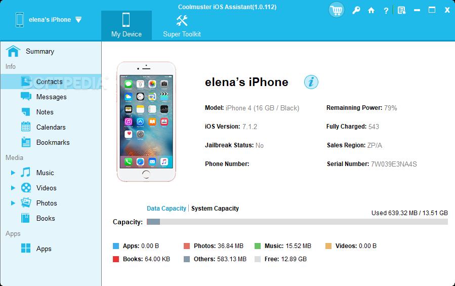 Coolmuster iOS Assistant 2.4.12 Crack Registration Code