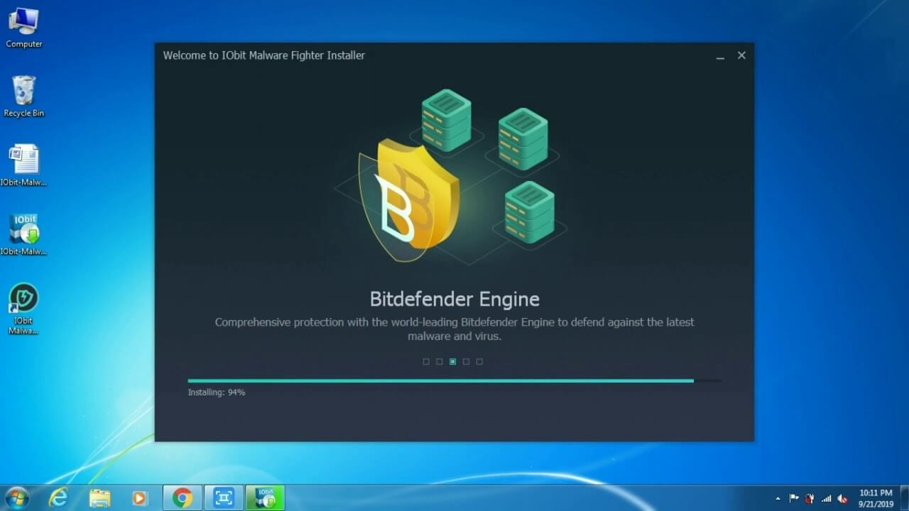 IOBIT Fighter Malware with Registration Key
