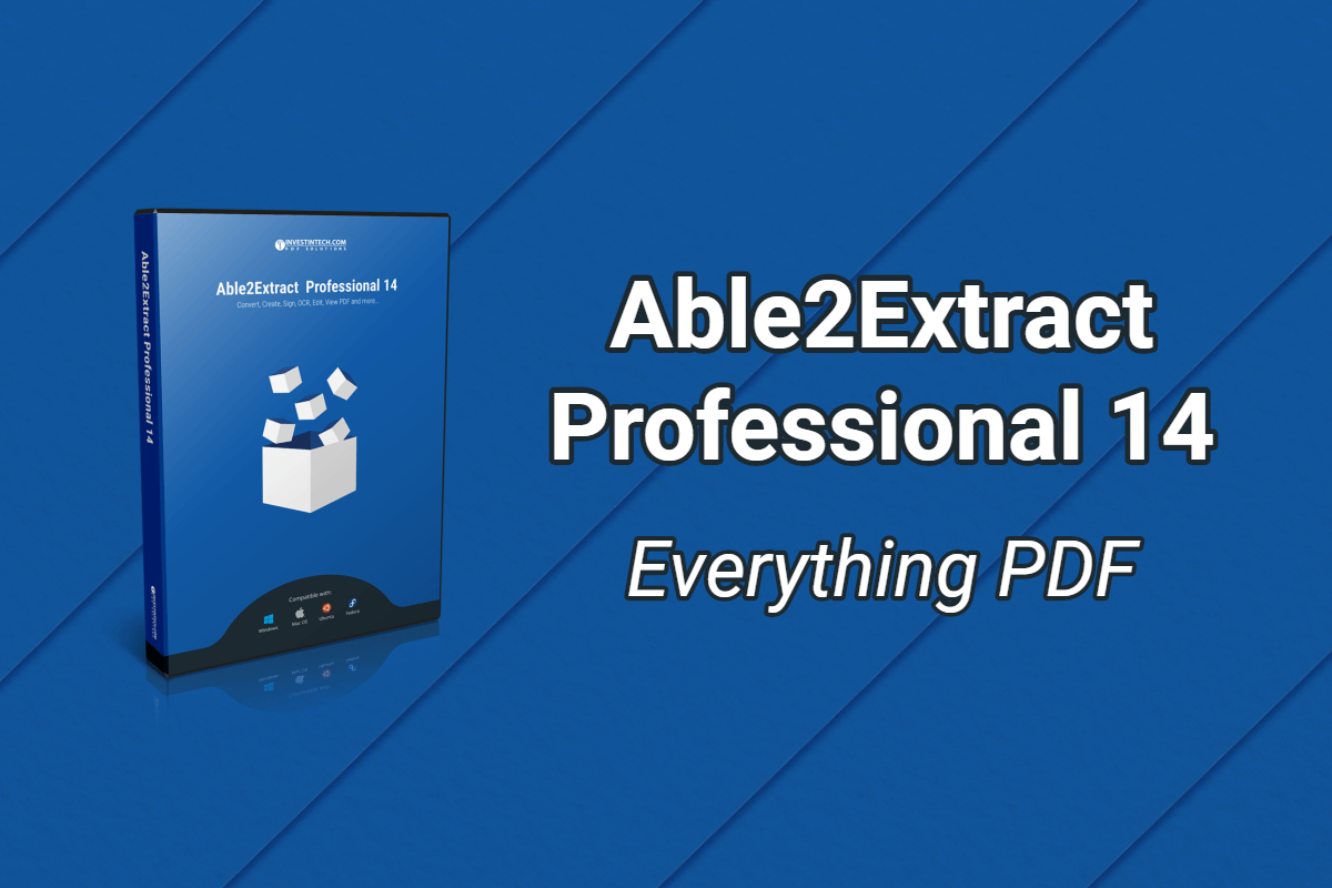 The Able2Extract Professional 14 Registration Key