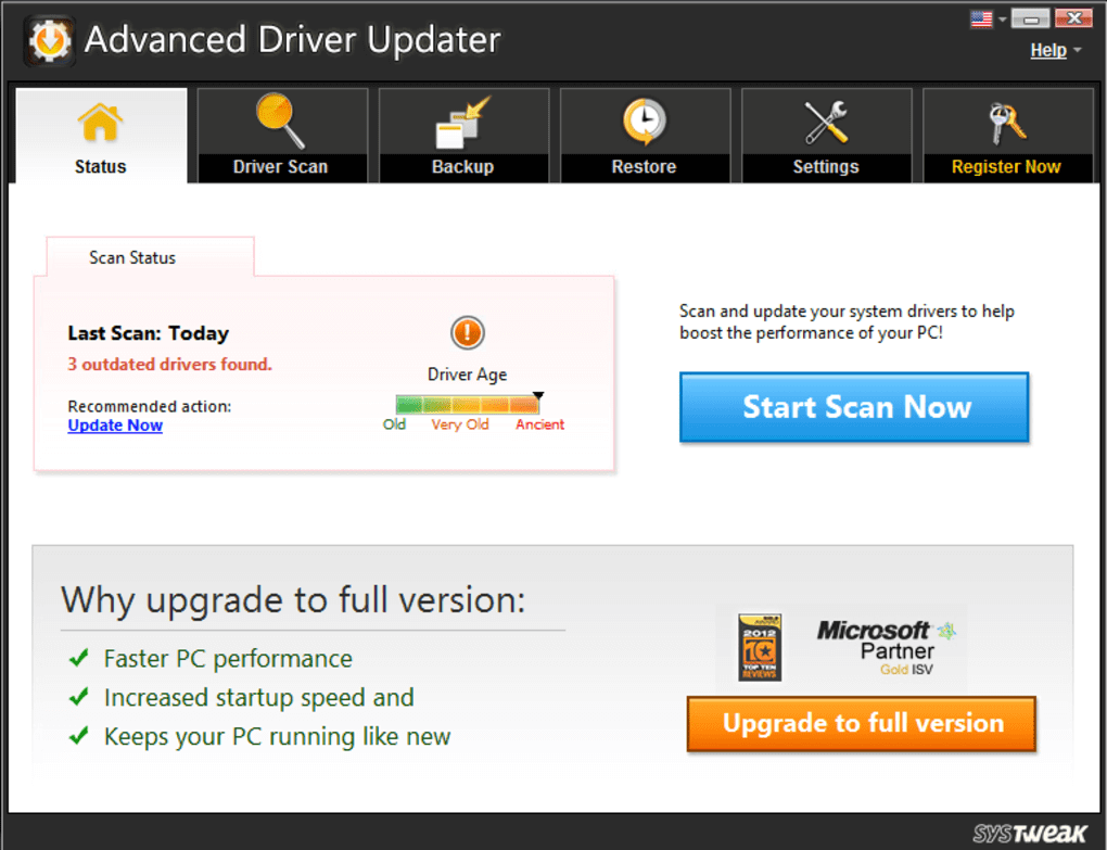 Advanced Driver Updater Activation Code