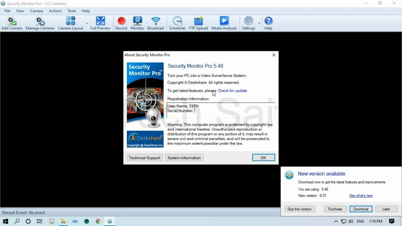 Security Monitor Pro Registration Code
