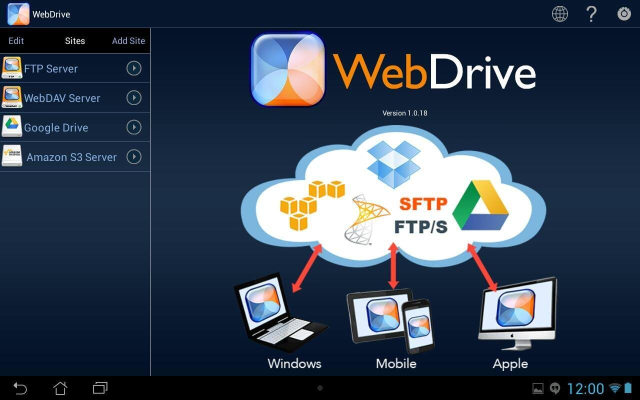 WebDrive License Number